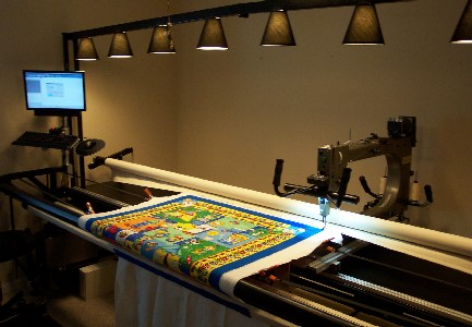 used gammill quilt machine