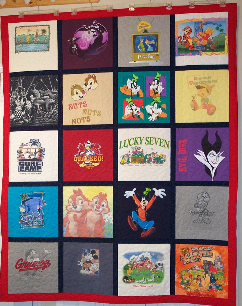 T Shirt Quilt Pattern With Different Size Blocks New Inspiration Ideas